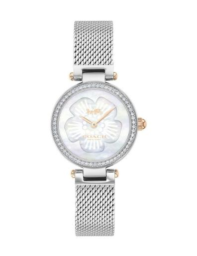 Coach Women's Park Silver Dial Silver Stainless Steel Watch. 14503510