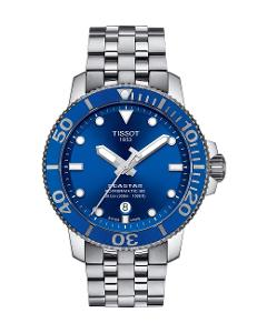Tissot  Men Sport Stainless steel Round Blue Dial Mechanical Watch  T120.407.11.041.00