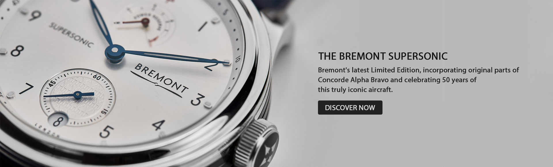 Bremont Supersonic
