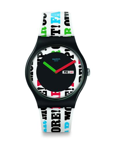 Swatch ON HER MAJESTY'S SECRET SERVICE SUOZ715