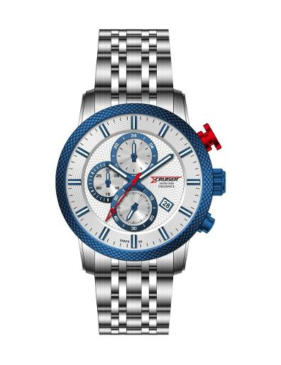 Cruiser Men's Metal Chronograph C7250-GDWDC