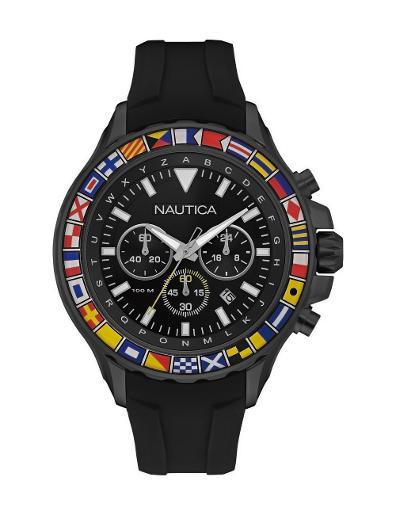 Nautica Men's NST 1000 FLAGS NAD21011G
