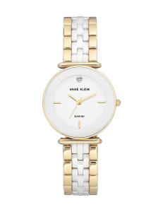 Anne Klein  Women's Ceramic  AK3158WTGB