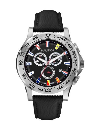Nautica Men's NST 600 Chrono Flag A19595G