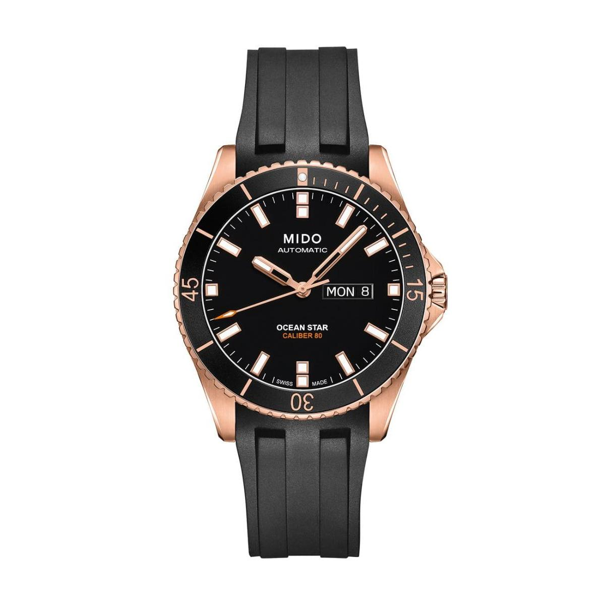 Mido  Mido Sporty Ocean Star Captain V Men Stainless steel Round Black Dial Automatic Watch  M026.430.37.051.00