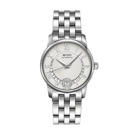 Mido  Mido Classic Baroncelli Women Stainless steel Round Silver Dial Automatic Watch  M007.207.11.038.00