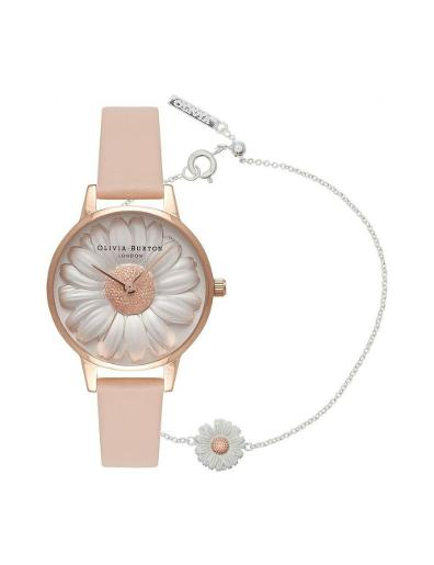 Olivia Burton Women's 3DDAY Watch OB16GSET18
