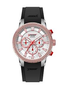 Men's Leather Chronograph