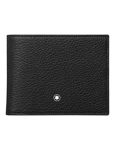 Montblanc Meisterstuck Soft Grain Wallet 6cc with removable Card Holder 114467