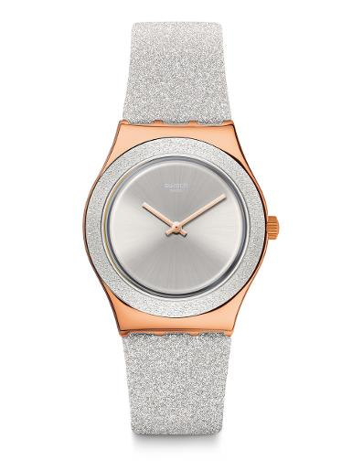 Swatch GREY SPARKLE YLG145