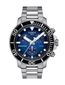 Tissot  Men Sport Stainless steel Round Blue Dial Quartz Watch  T120.417.11.041.01
