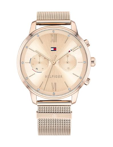 Tommy Hilfiger Women's Blake Rose Gold Dial Rose Gold Stainless Steel Watch 1782303