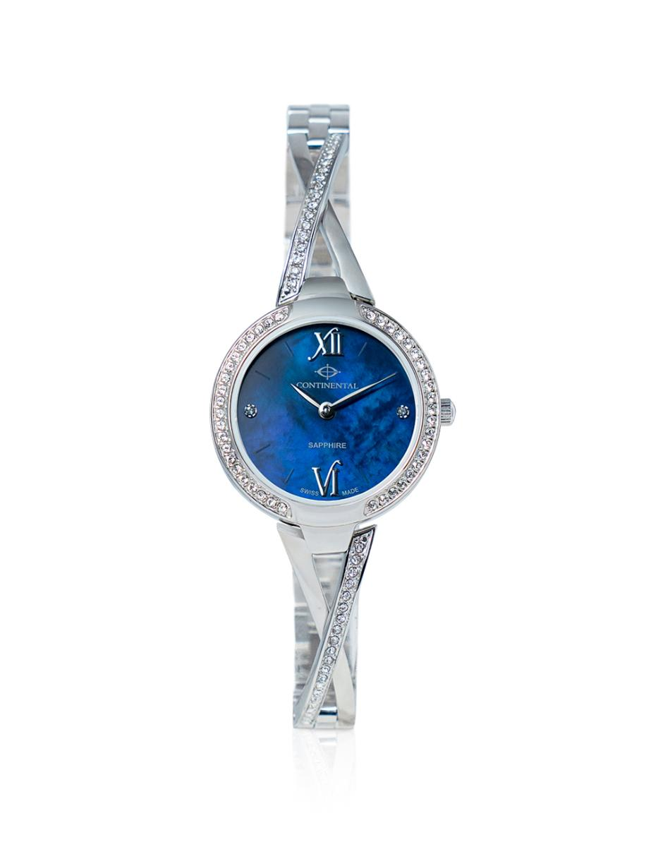 Continental  Women's Classic Mother of Pearl Dial Steel Metal Watch.  16601-LT101831
