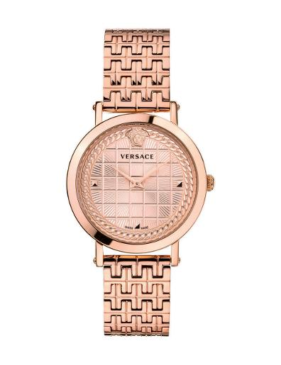Versace Women's MEDUSA CHAIN Rose Gold Dial Rose Gold stainless steel Watch. VELV00720