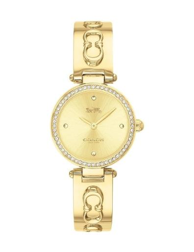Coach Women's Park Gold Dial Gold Stainless Steel Watch. 14503276
