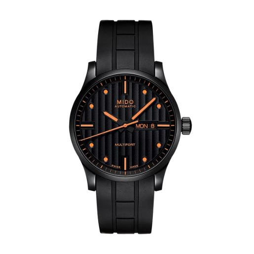 Mido  Mido Fashion Multifort Men Stainless steel Round Black Dial Automatic Watch  M005.430.37.051.80