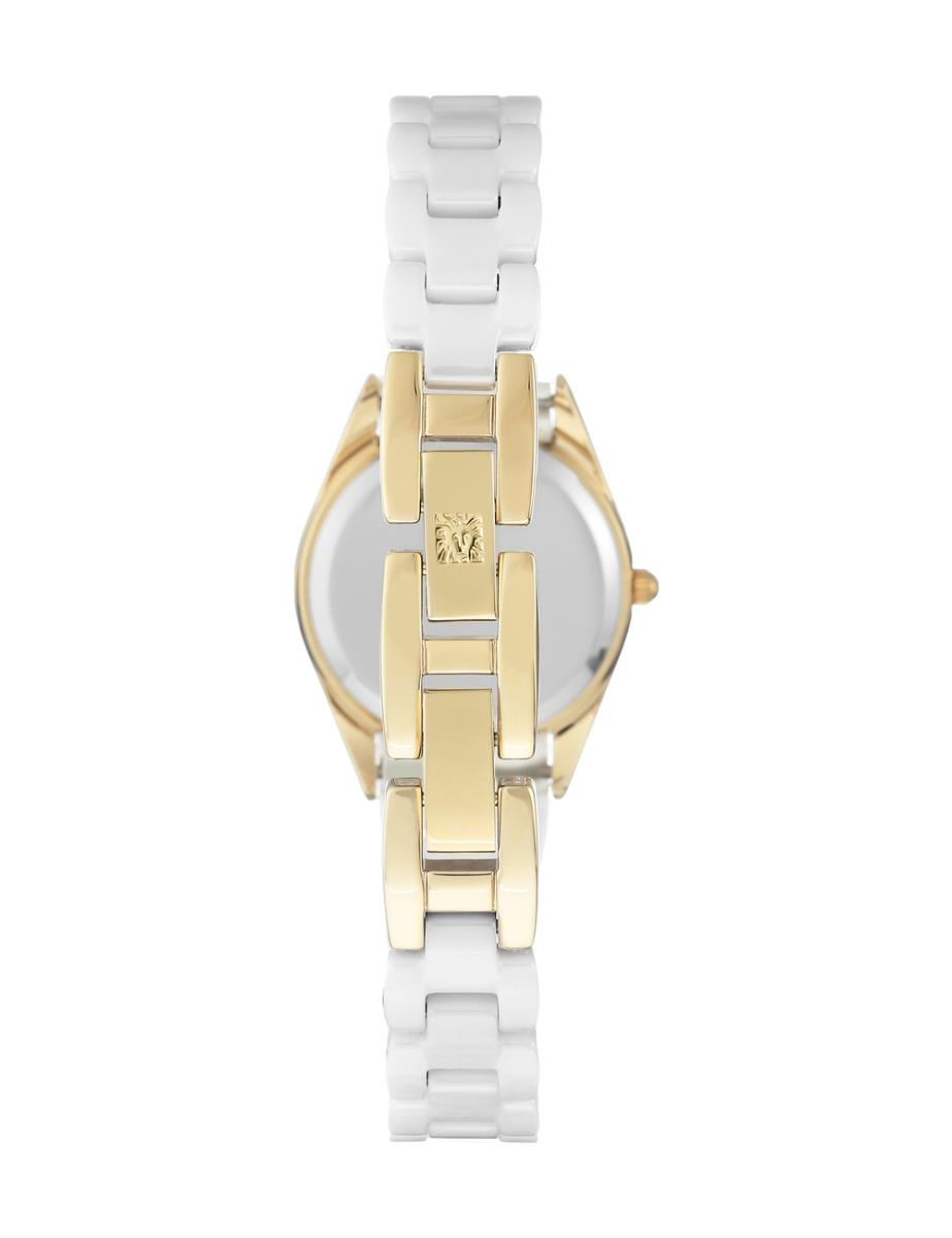 Anne Klein  Women's Ceramic  AK3164WTGB
