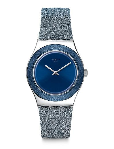 Swatch BLUE SPARKLE YLS221