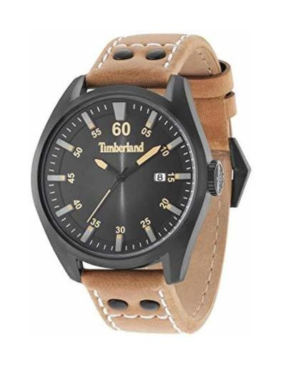 Timberland Men's Bellingham Black Dial Brown Leather Watch. TBL15025JSB-02A