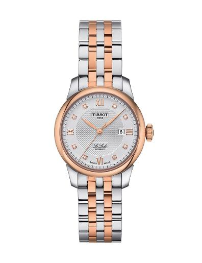 Tissot  Women Classic Stainless steel Round Silver Dial Mechanical Watch  T006.207.22.036.00
