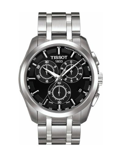 Tissot Men's Couturier Chrono Quartz T035.617.11.051.00