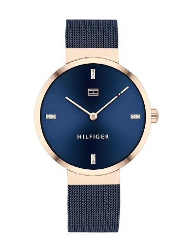 Tommy Hilfiger Women's Liberty Blue Dial Blue Stainless Steel Watch. 1782219