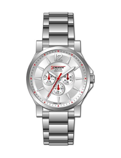 Cruiser Men's Metal Multifunction C7178-GSSS