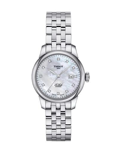 Tissot  Women Classic Stainless steel Round White Dial Mechanical Watch  T006.207.11.116.00