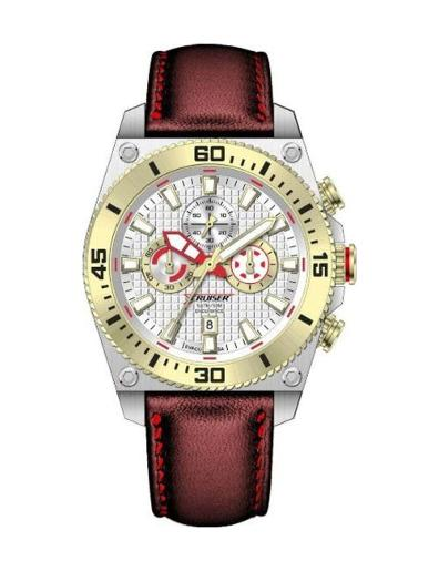 Cruiser  Men's Silicon Strap Multifunction  C7193-GXSGC