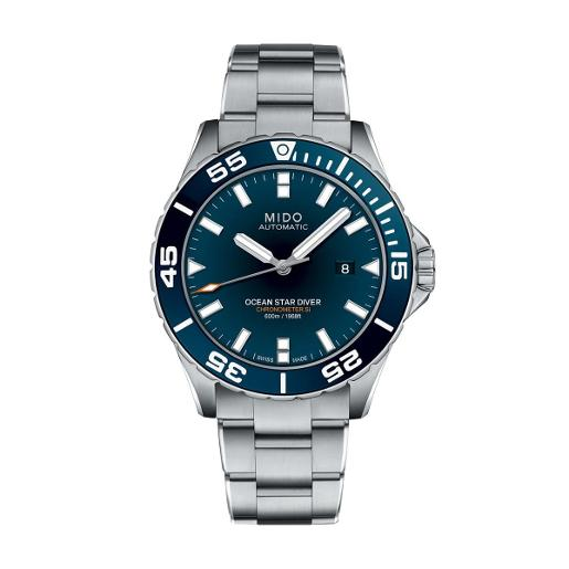 Mido Mido Sporty Ocean Star Captain V Men Stainless steel Round Black Dial Automatic Watch M026.608.11.041.00