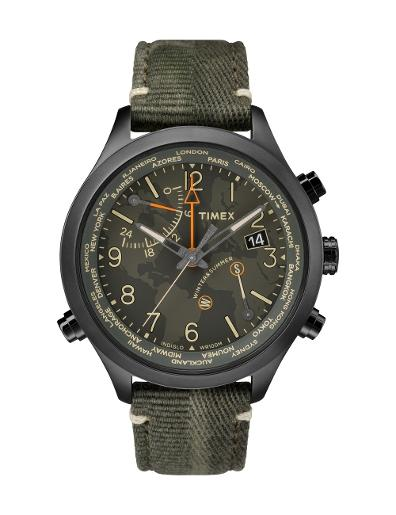Timex Men's World Time - BTQ TW2R43200