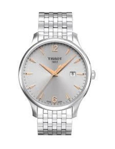 Tissot  Men's Classic SILVER Dial Grey Stainless steel Watch.  T063.610.11.037.01