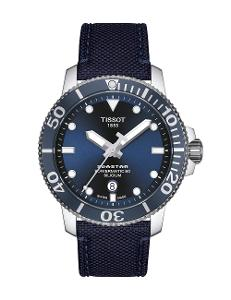 Tissot  Men Sport Stainless steel Round Blue Dial Mechanical Watch  T120.407.17.041.01