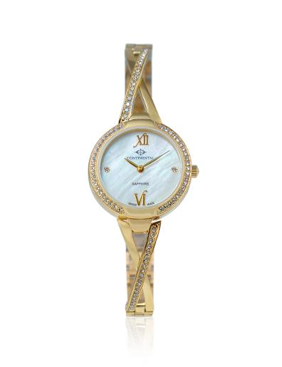 Continental Women's Classic Mother of Pearl Dial Yellow Gold Metal Watch. 16601-LT202531