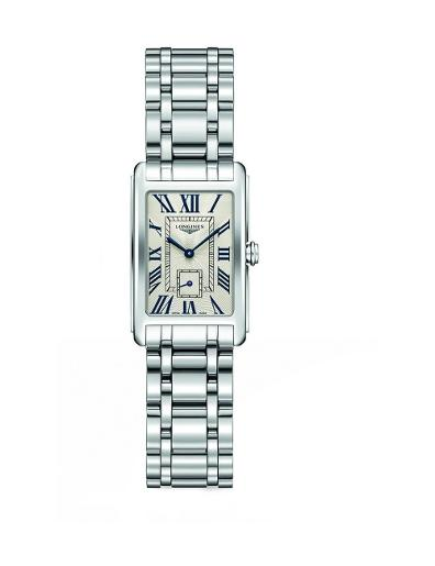 Longines Women's DOLCE VITA White Dial Stainless Steel Stainless Steel Watch. L52554716