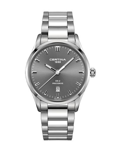 Certina  Men's DS 2 Grey Dial Stainless steel Stainless steel Watch  C024.410.11.081.20