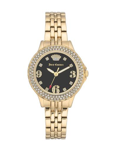 Juicy Couture Women's Crystal Metals JC1022BKGB