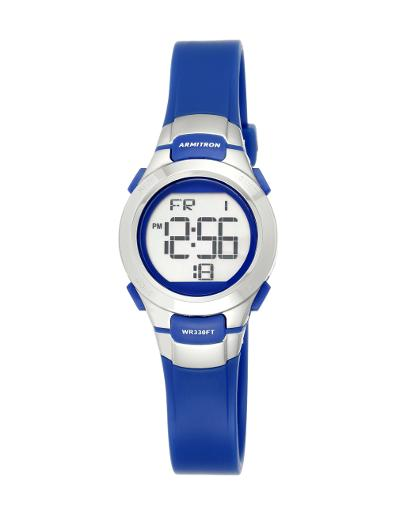 Armitron Men's Digital 457012BLU
