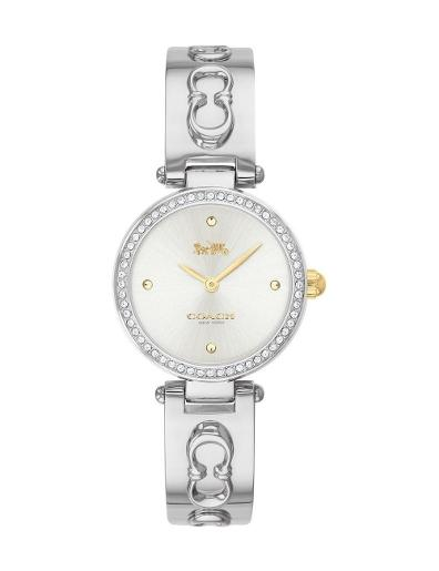 Coach Women's Park Silver Dial Silver Stainless Steel Watch. 14503275